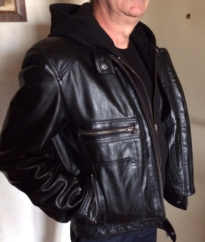 blouson cuir noir redskins xl d'occasion