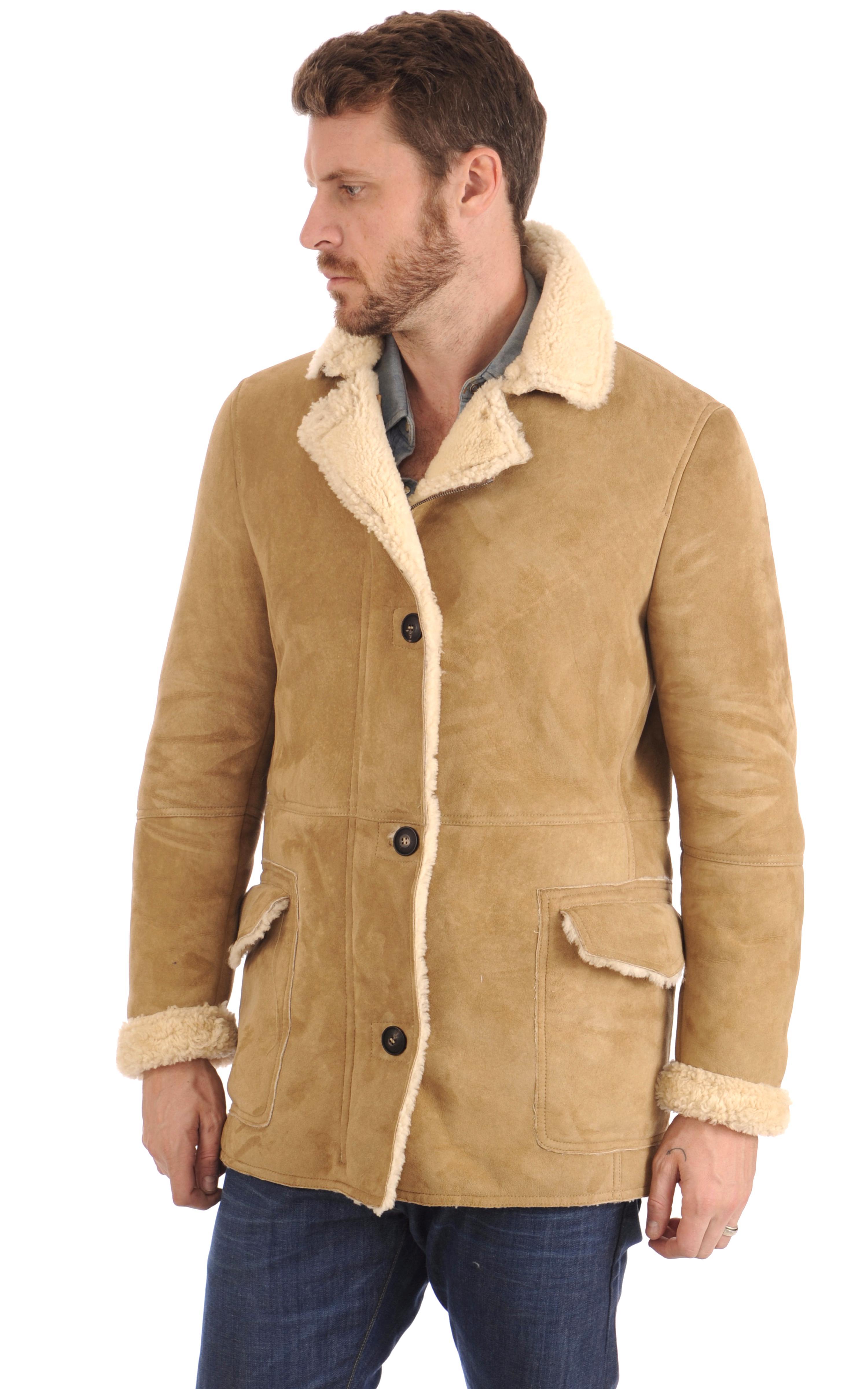 manteau peau homme d'occasion