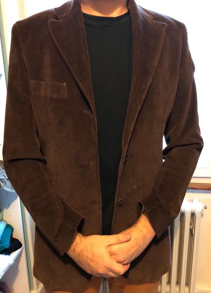 veste velours homme d'occasion
