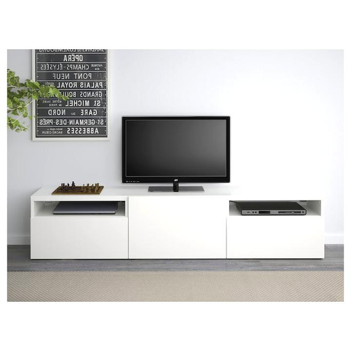 Meuble Tv Ikea Blanc D Occasion