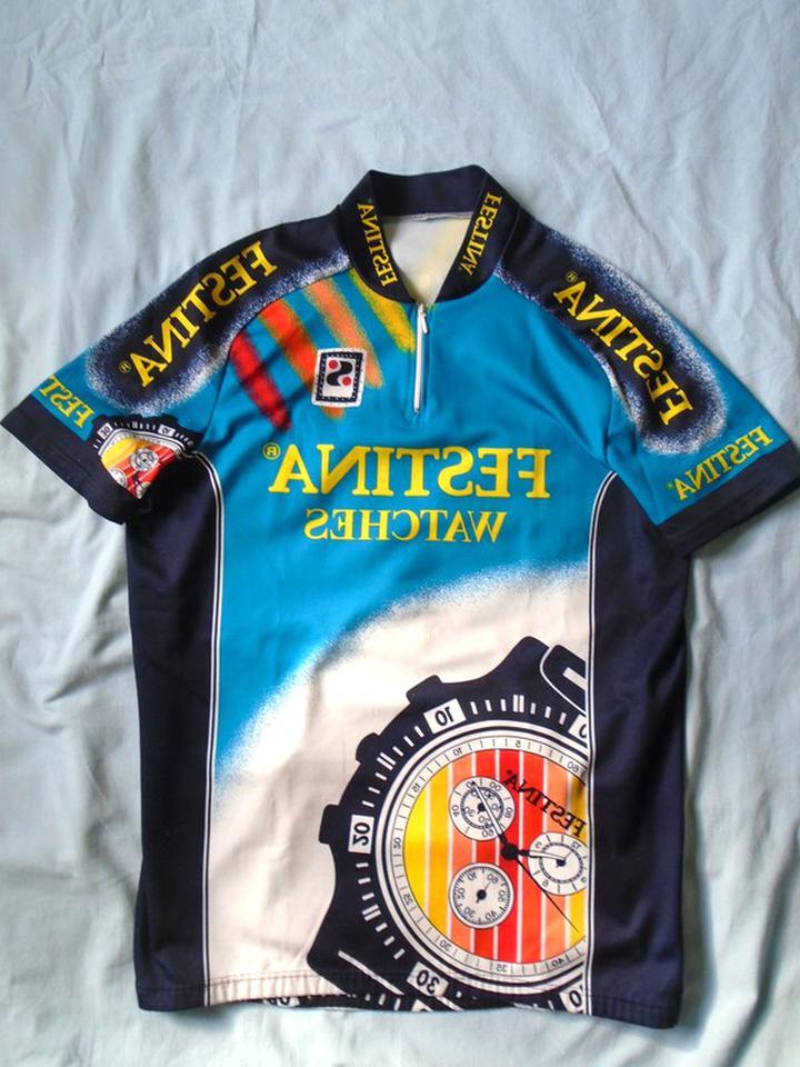 maillot cycliste festina d'occasion