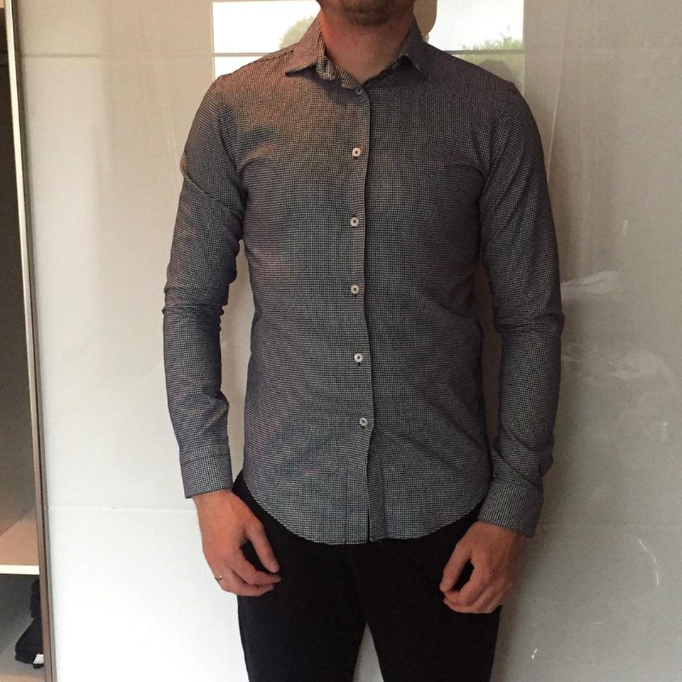 chemise zara homme slim fit d'occasion