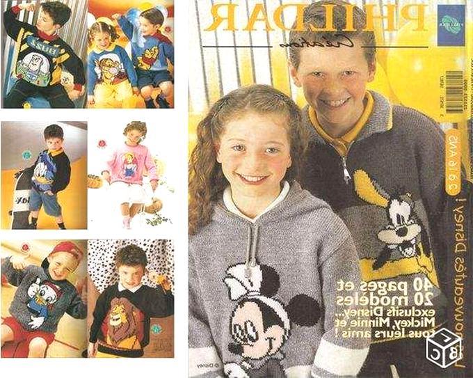 catalogue phildar mickey d'occasion