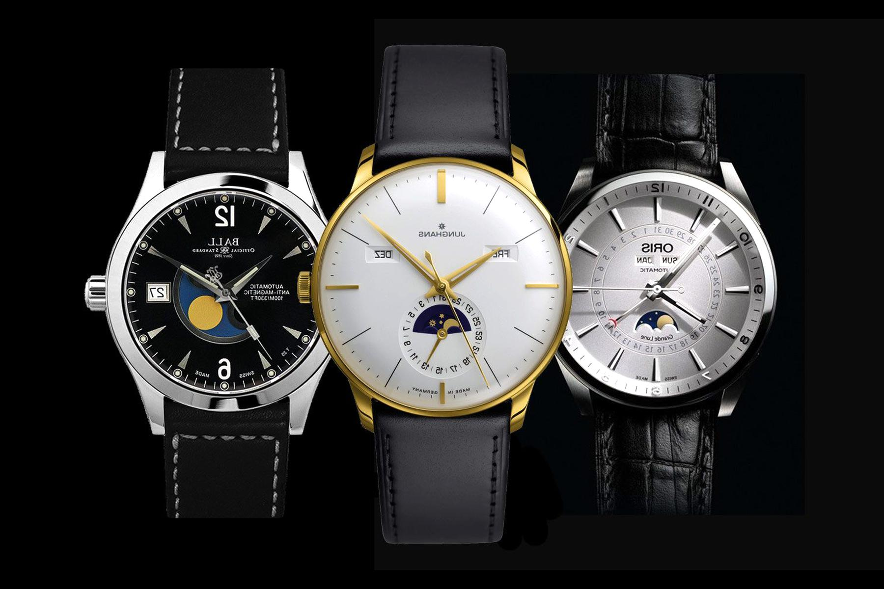 montre phase lune d'occasion