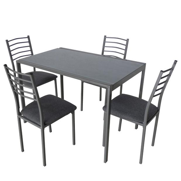 table verre 4 chaises d'occasion