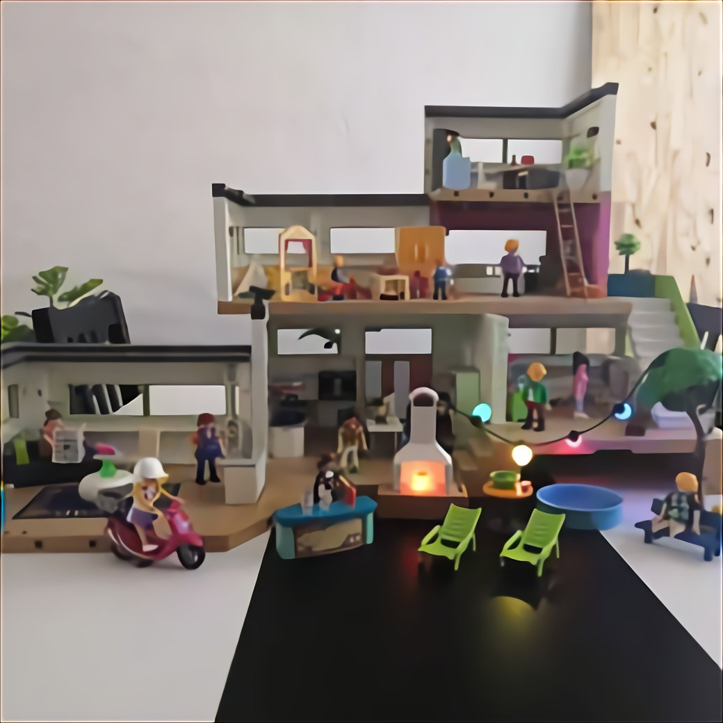 Extension Moderne Playmobil D Occasion