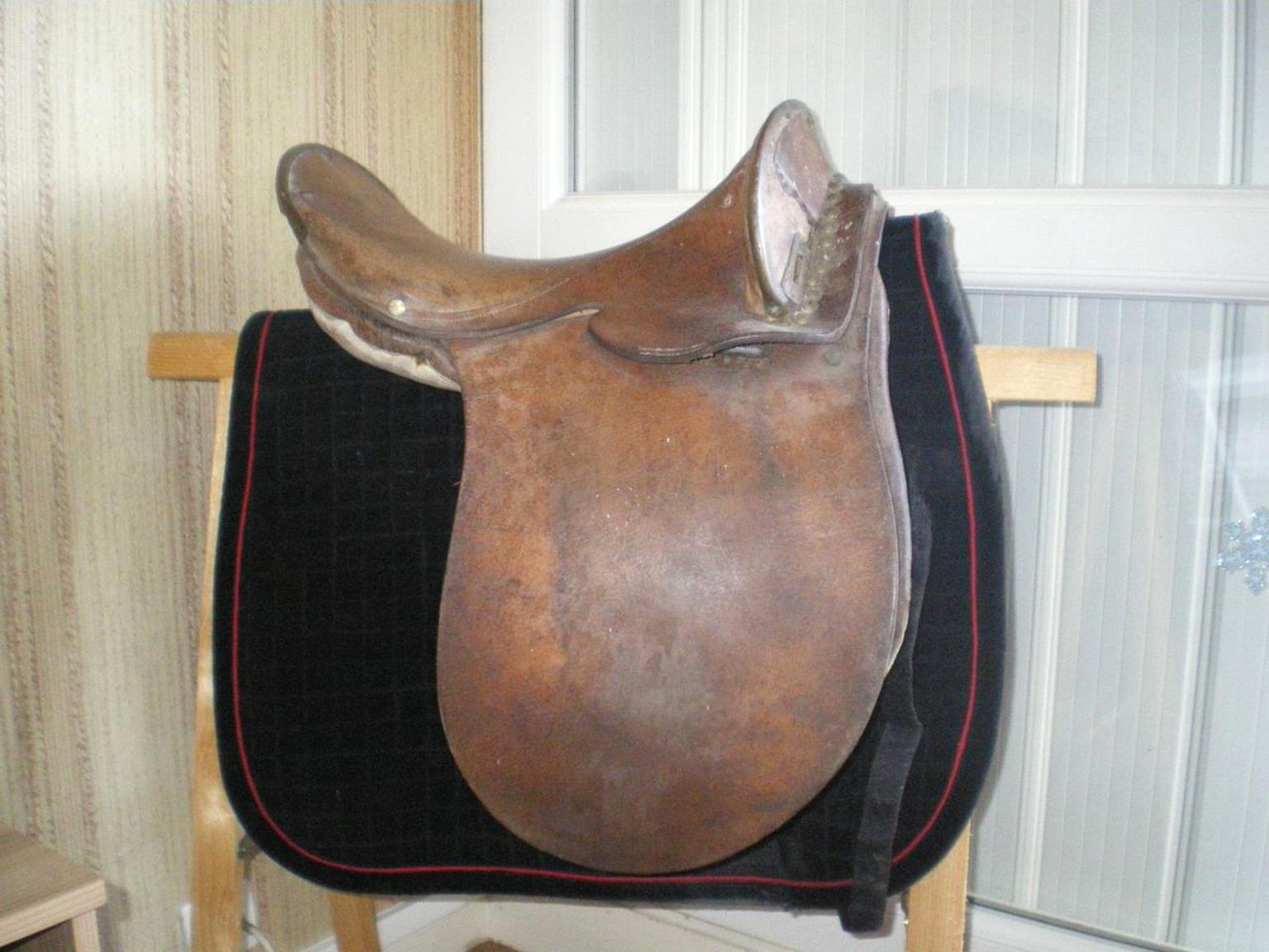 selle cheval ancienne d'occasion