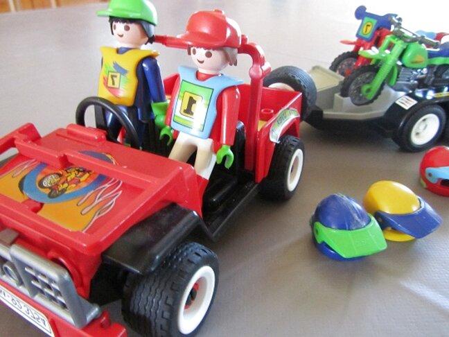 remorque voiture playmobil remorque d'occasion