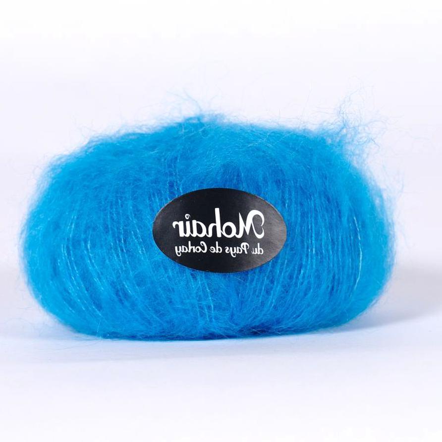 pelote laine mohair d'occasion
