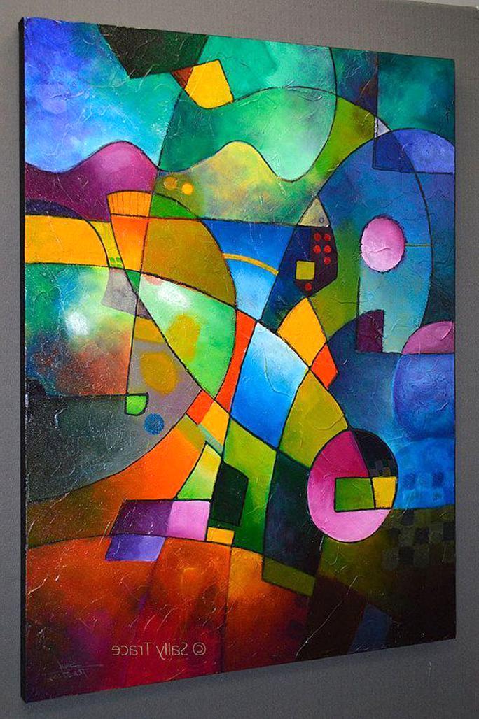 Vente tableaux modernes acrylique