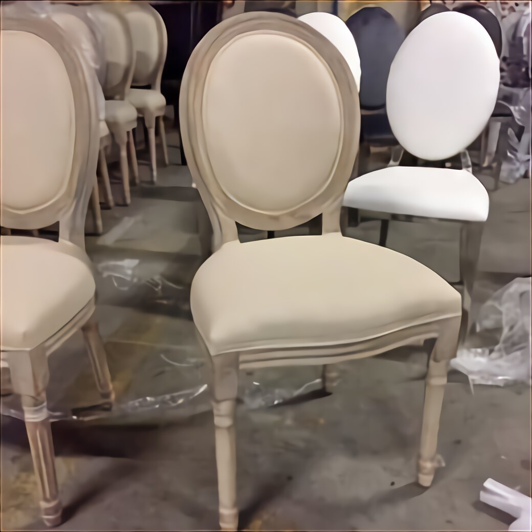 chaise medaillon velour d occasion