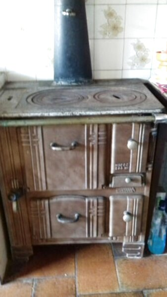 ancienne cuisiniere fonte emaillee d'occasion
