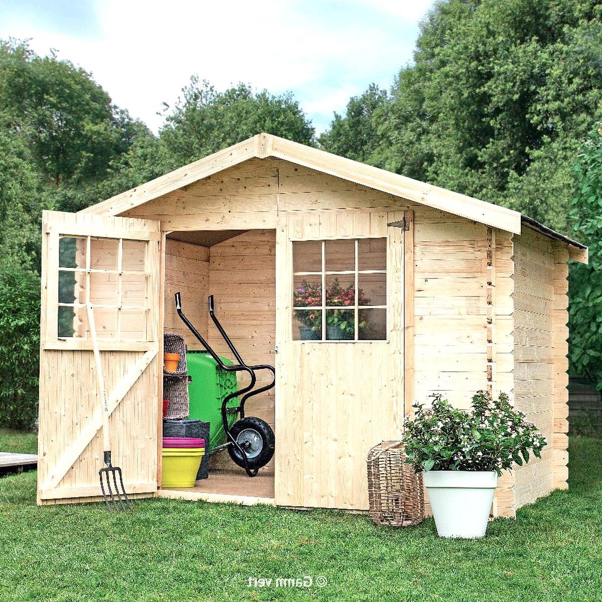 abri jardin bois d'occasion