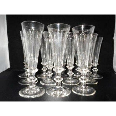 flutes champagne cristal ancienne d'occasion