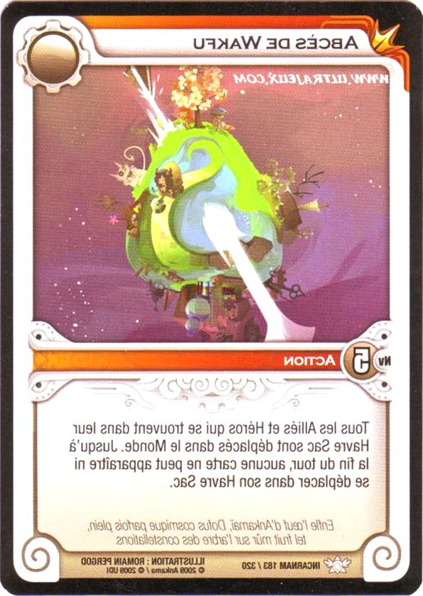cartes wakfu d'occasion