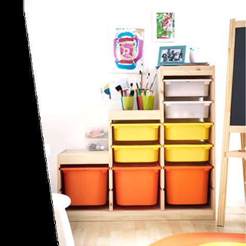 Meuble Rangement Enfant Ikea D Occasion