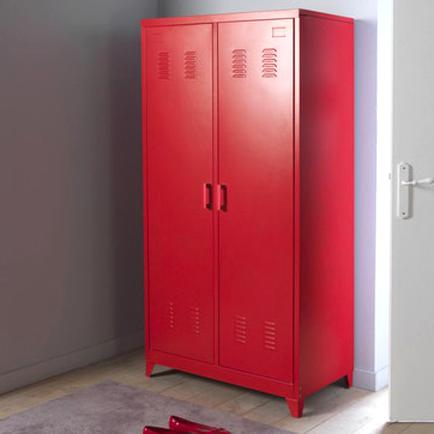 Armoire Metallique Rouge D Occasion