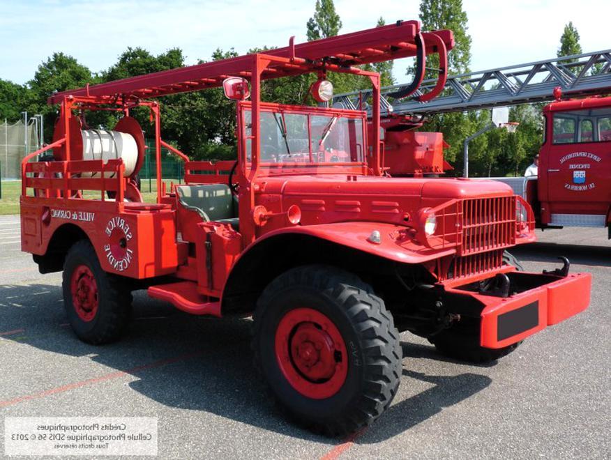 Dodge Pompier Doccasion Plus Que 4 à 65