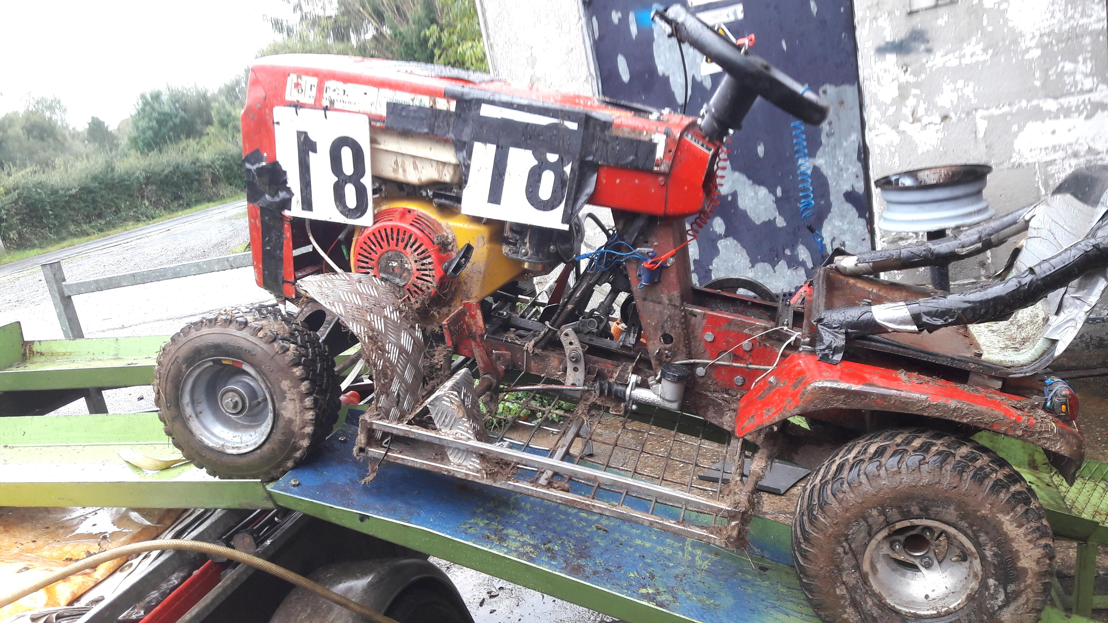 Tracteur Tondeuse Hs D Occasion