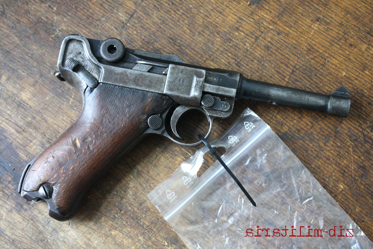 Epic Militaria Poign/ées Pistolet Luger P08 En Bois