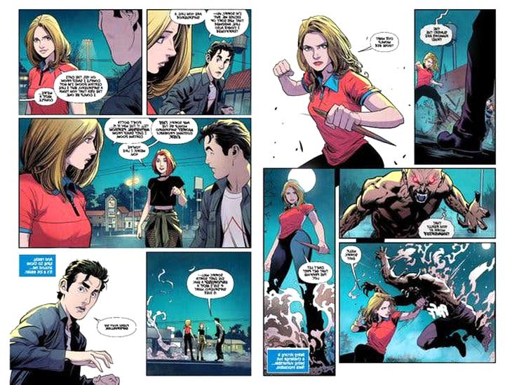 buffy comics d'occasion