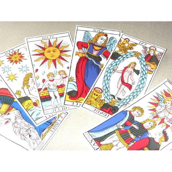 ancien jeu cartes voyance d'occasion