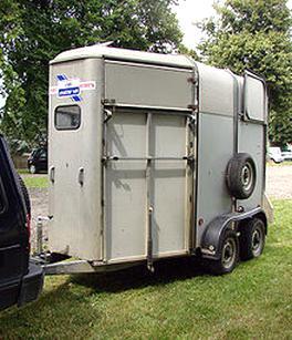 Occasion van pour chevaux