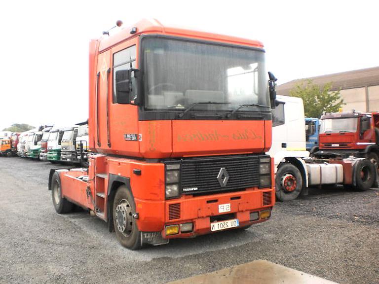 Lot de 2 Housses de si/ège pour Camion avec Passepoil Rouge pour Renault T Renault C.