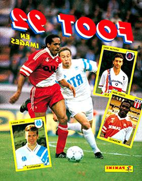 panini foot 1992 d'occasion