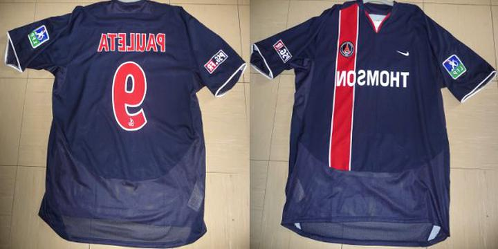maillot psg xxl d'occasion