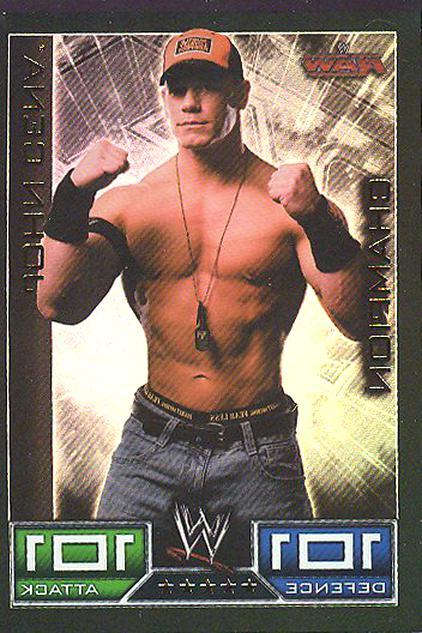 good texture super popular speical offer Carte Catch John Cena Champion John d'occasion