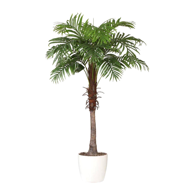 vidaXL Palmier Artificiel Plastique avec Pot 140 cm Arbre Artificiel d/écoration