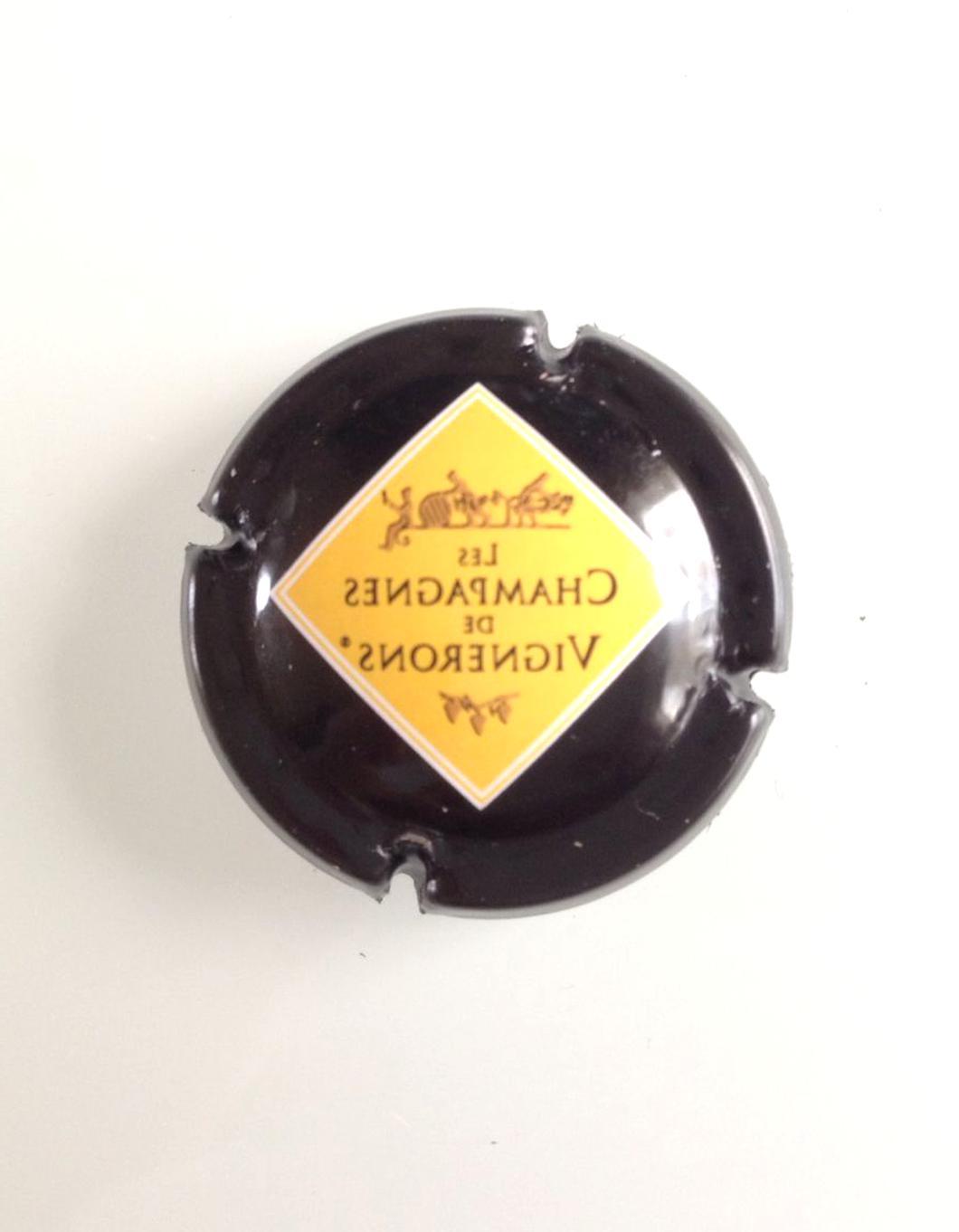or et marron Capsule de Champagne DESBOEUFS /& Fils