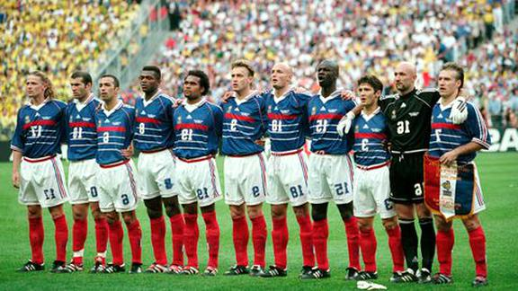 equipe france football 1998 d'occasion