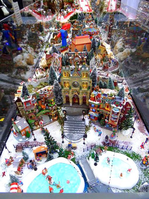 Village De Noel Miniature A Vendre Village Noel Lemax d'occasion
