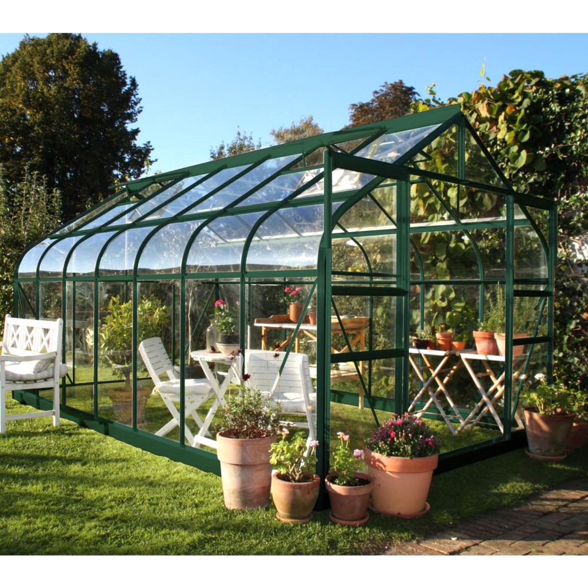 serre jardin verre