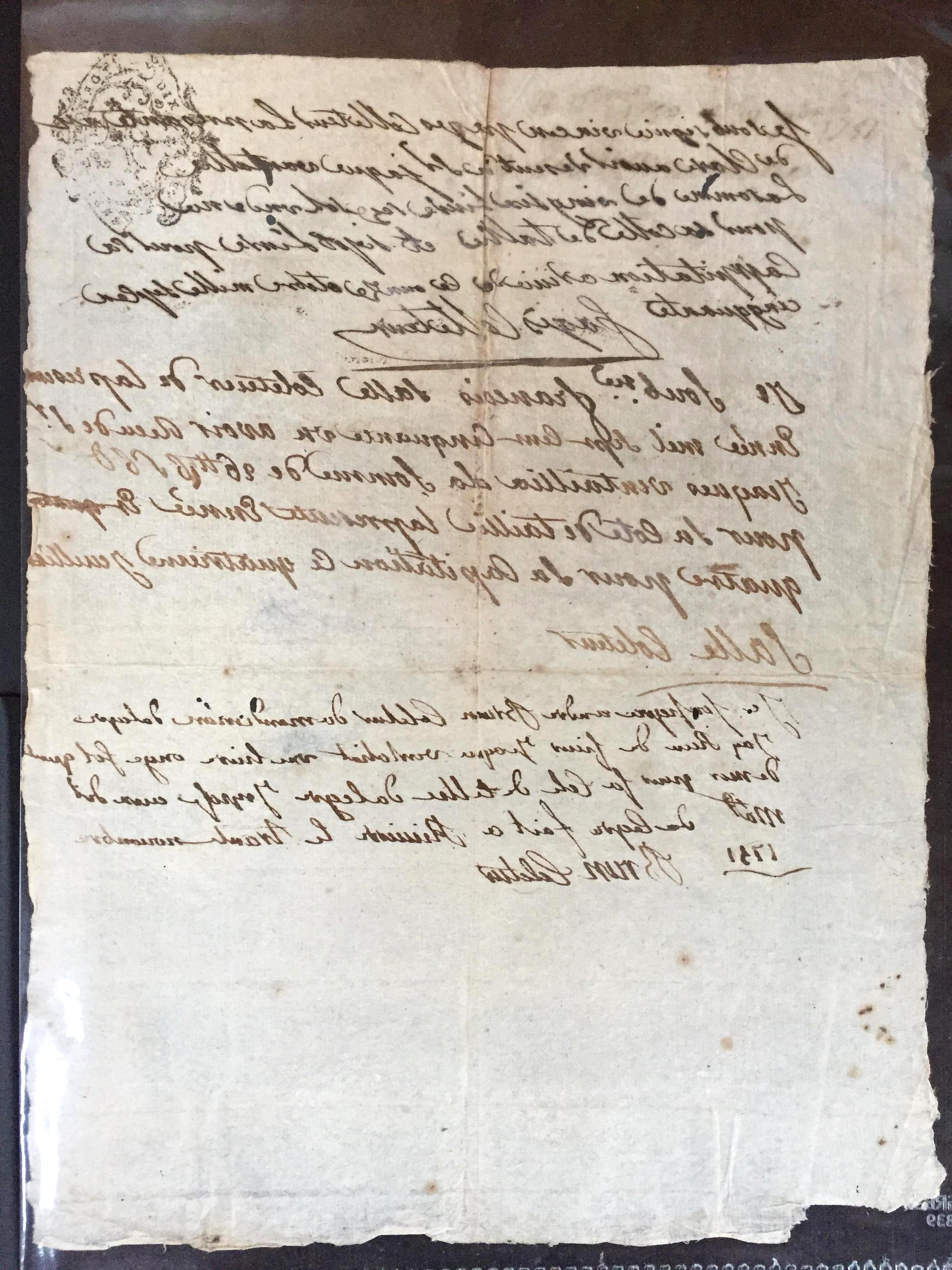 vieux documents d'occasion