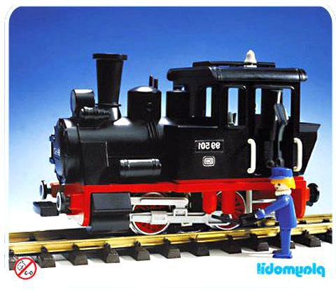 locomotive playmobil d'occasion