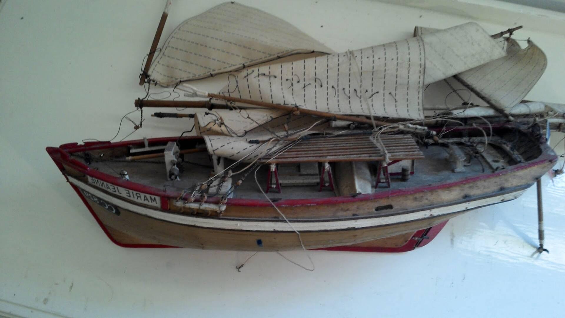 bateau jouet bois ancien d'occasion