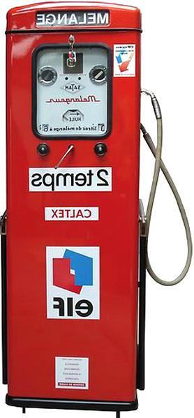 autocollant pompe a essence pompe essence ancienne d'occasion