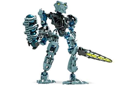 Blue Toa Nokama 8602 Complete Figure-Sans Boîte ou instructions Lego Bionicle