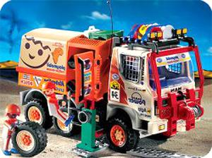 playmobil camion rallye d'occasion