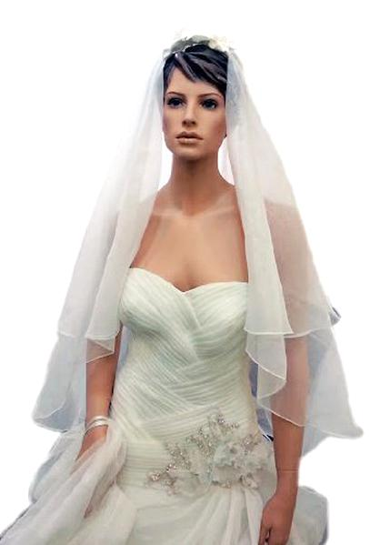voile mariee organza d'occasion