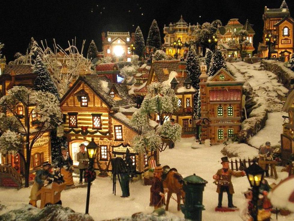 Village De Noel Miniature A Vendre Village Noel d'occasion | Plus que 2 à  60%
