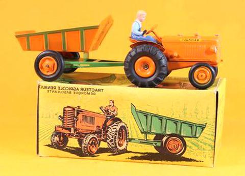 tracteur agricole renault cij d'occasion
