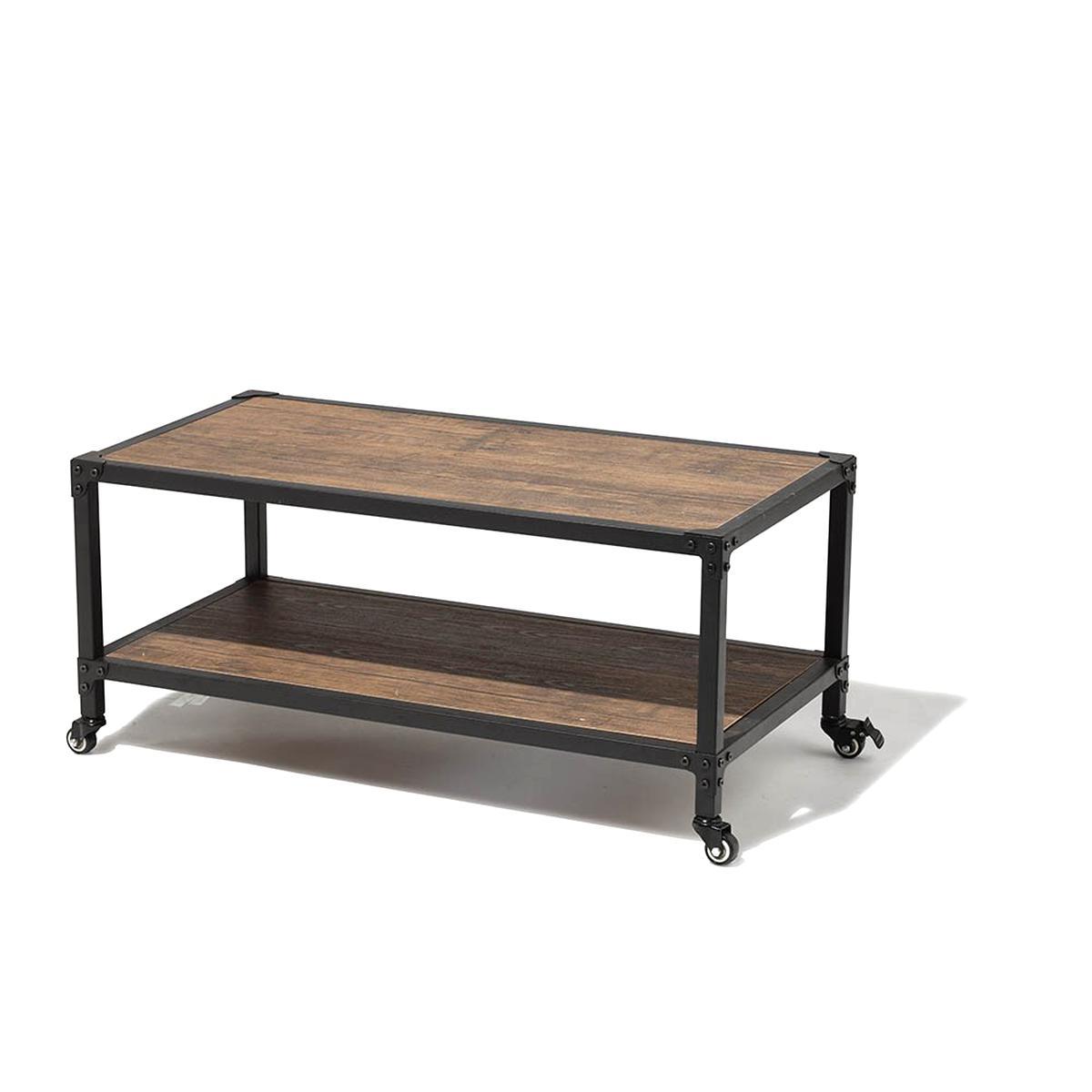 nouvelle arrivee Design moderne plutôt cool Table Basse Roulettes d'occasion