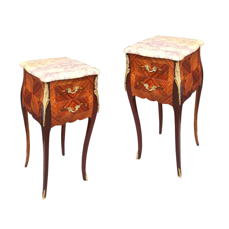 Table De Chevet Componibili table chevet ancienne paire d'occasion