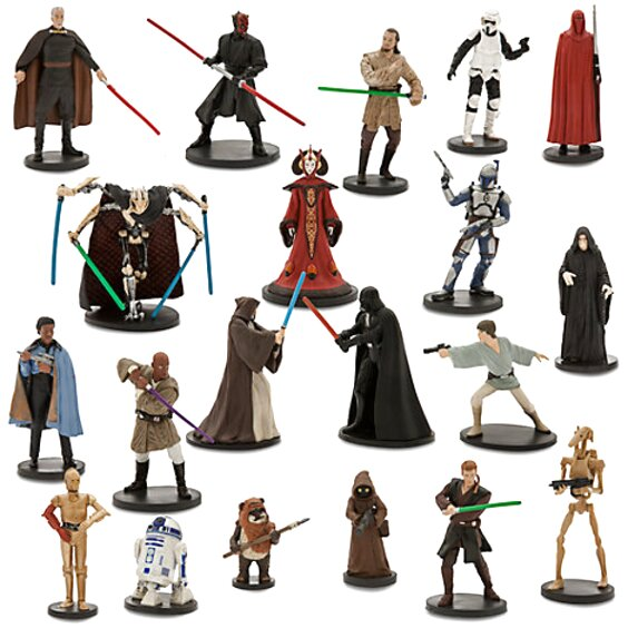 figurines star wars d'occasion