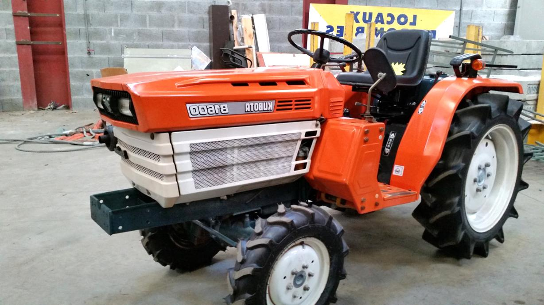 kubota micro tracteur b1600 d'occasion