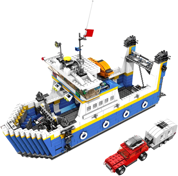 lego ferry 4997 d'occasion